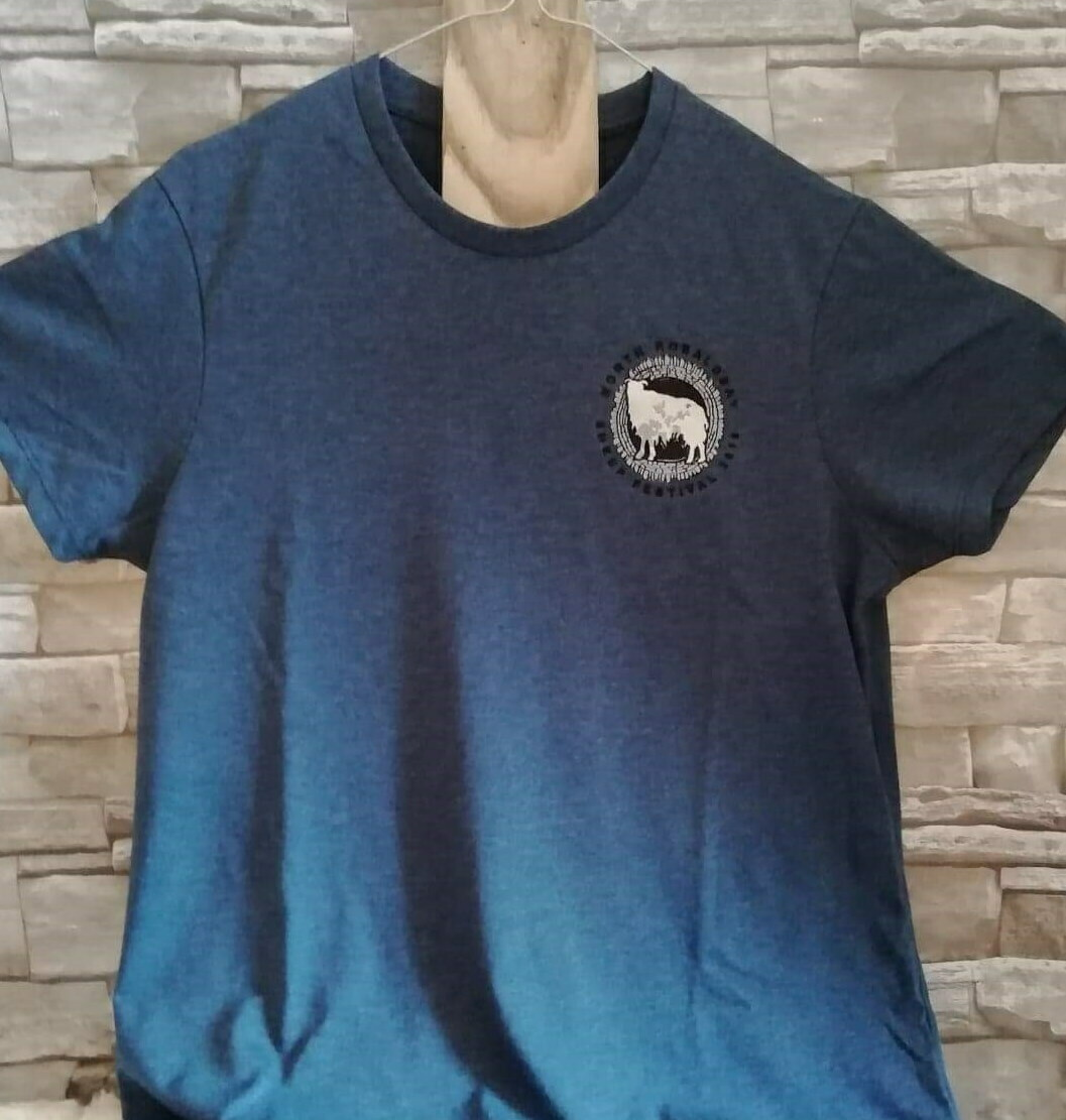 2019 Blue Festival T-Shirt- MEDIUM
