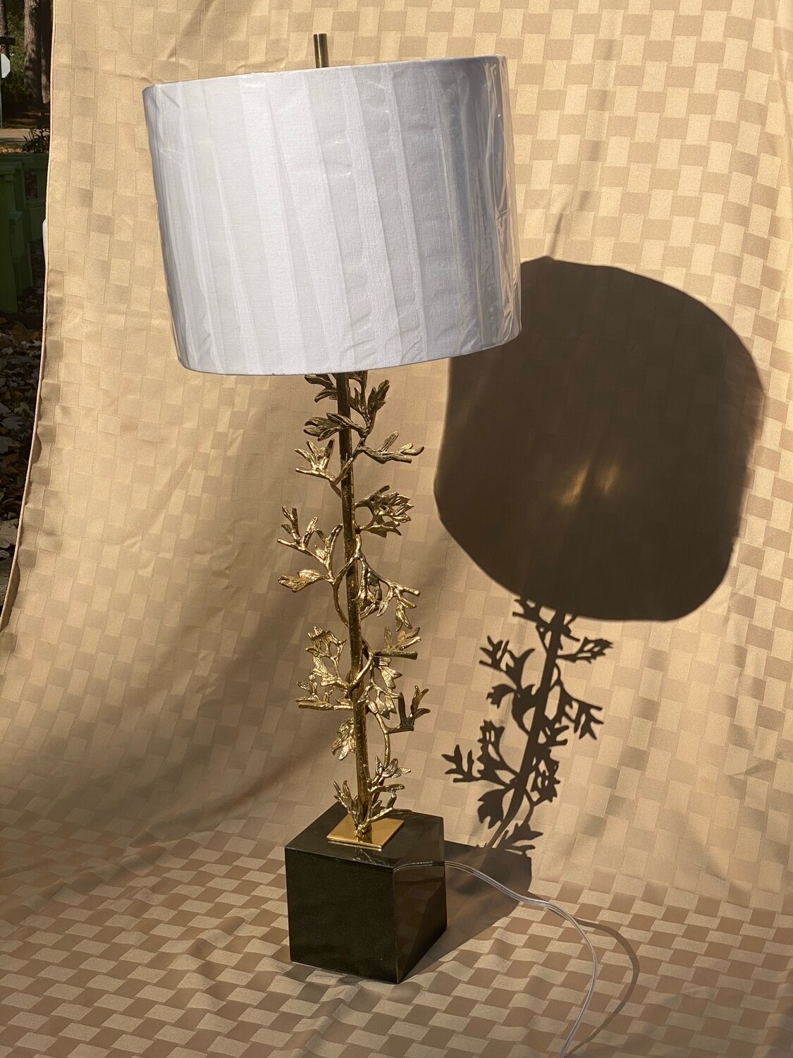 Sculpted Table Lamp