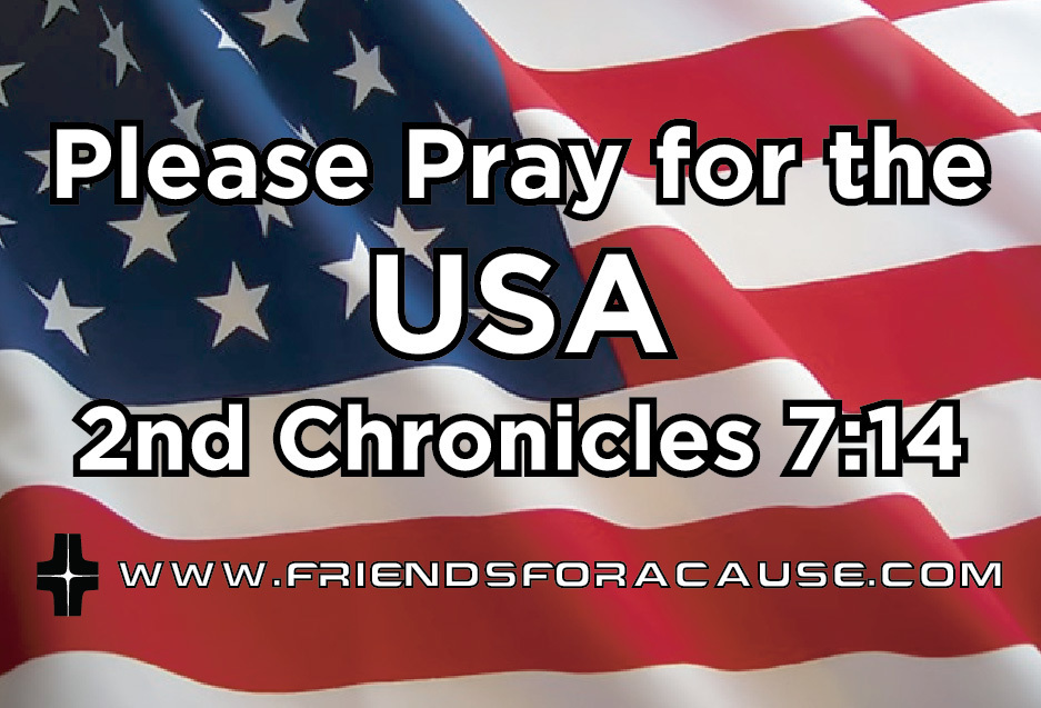 Pray for the USA Magnet