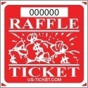 Eleven Raffle Tickets