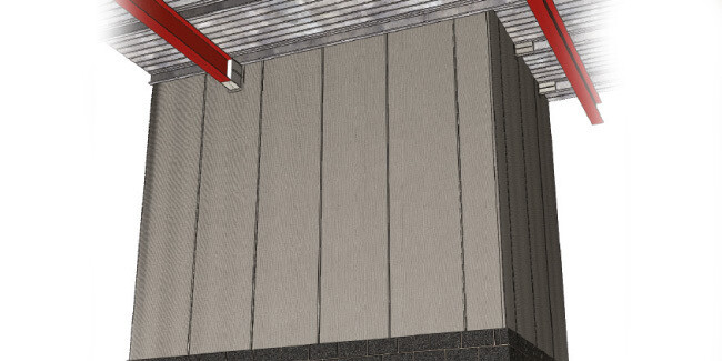 Firetherm 90 Minute Fire Curtain
