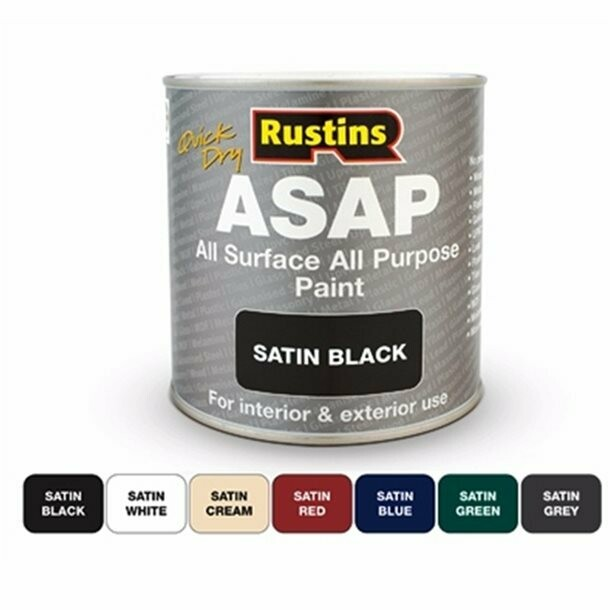 Quick Dry All Surface All Purpose Paint (ASAP)