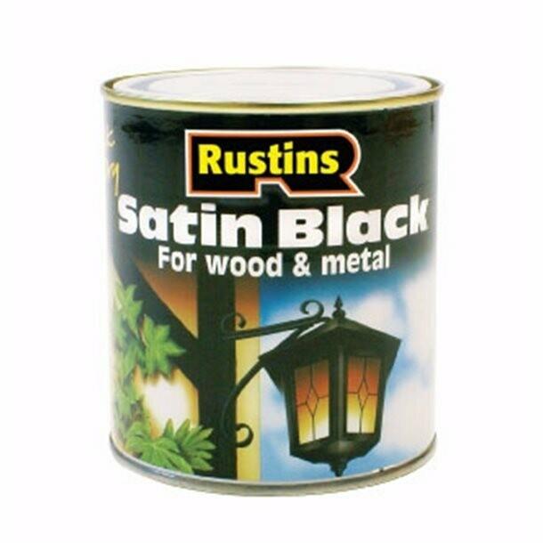 Quick Dry Satin Black