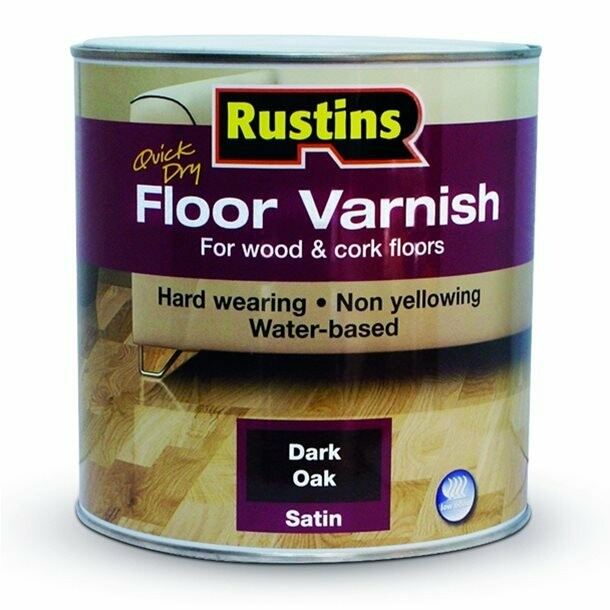 Quick Dry Floor Varnish Clear 2.5Ltr