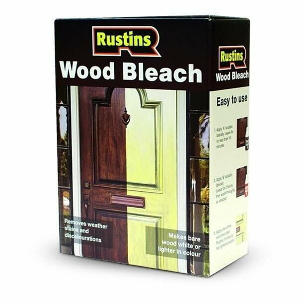 Wood Bleach Set