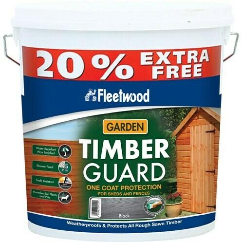 Fleetwood Gardencare Timberguard Wood Preservative- 5 Litre