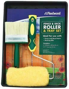 FLEETWOOD FENCE & DECKING ROLLER SET 9""
