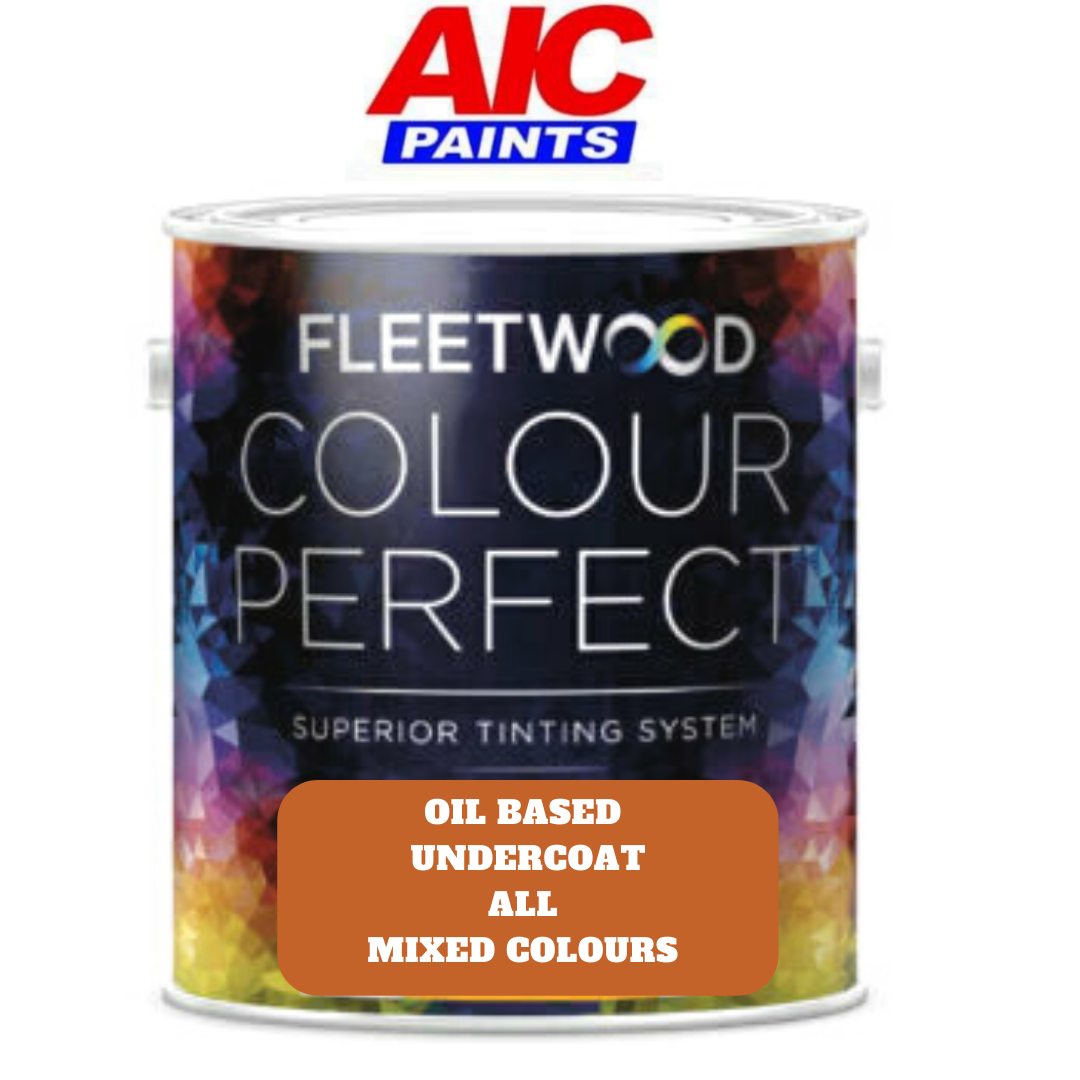 Fleetwood Undercoat Oil Based All Colours
