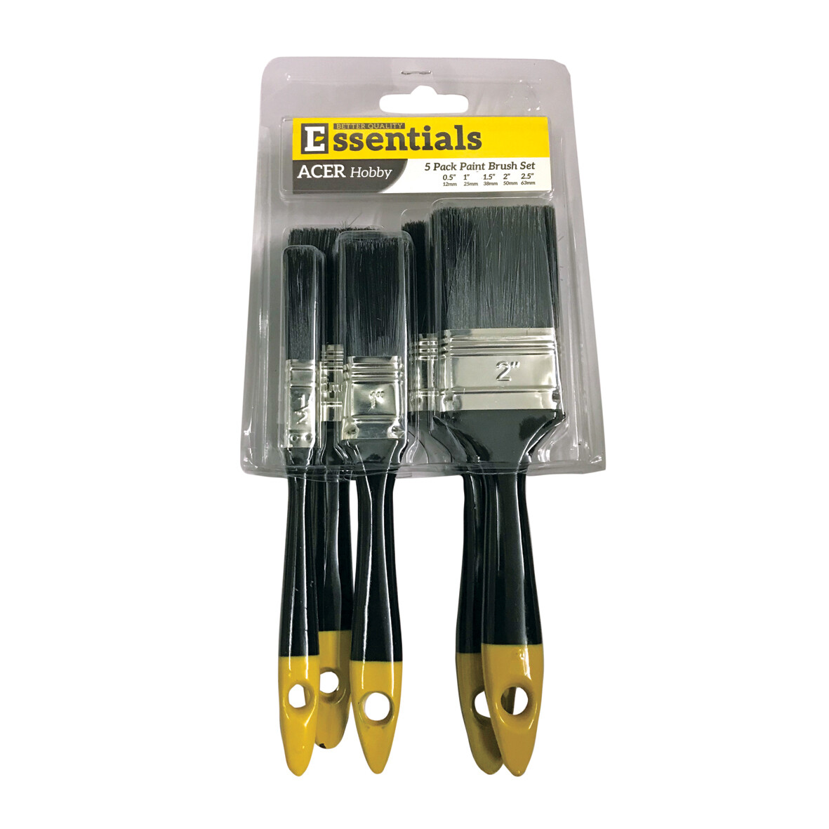Marshall ACER Hobby 5 Piece Brush Pack