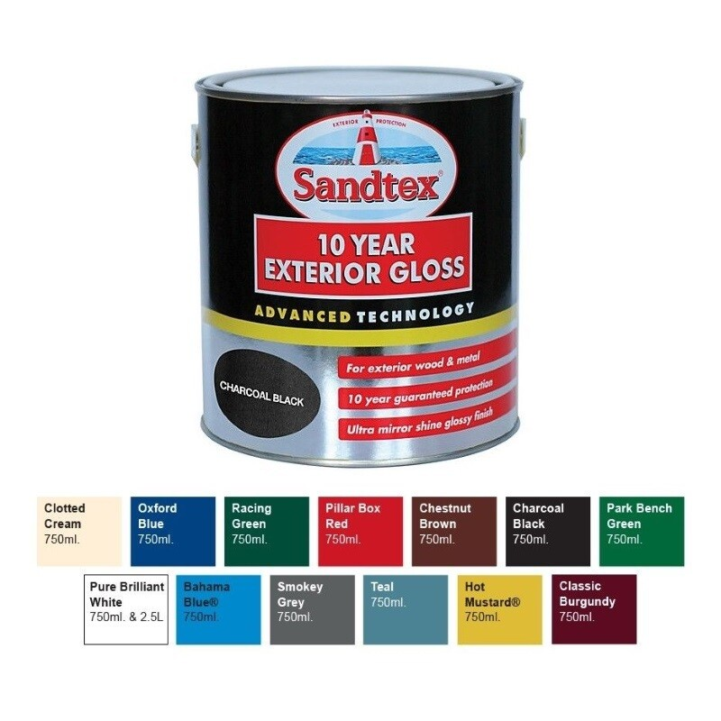Sandtex 10 Year Gloss 750ml