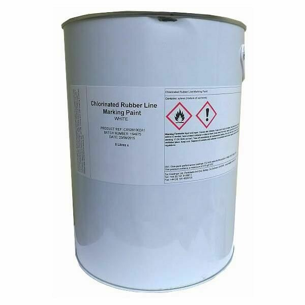 Chlorinated Rubber Line Marking Paint 5lts