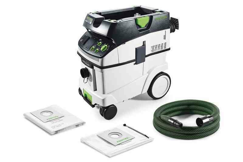 Mobile dust extractor CLEANTEC CTM 36 E AC 240V