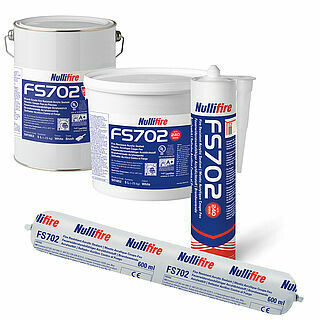 FS702 Intumastic Fire Resistant Acrylic Sealant