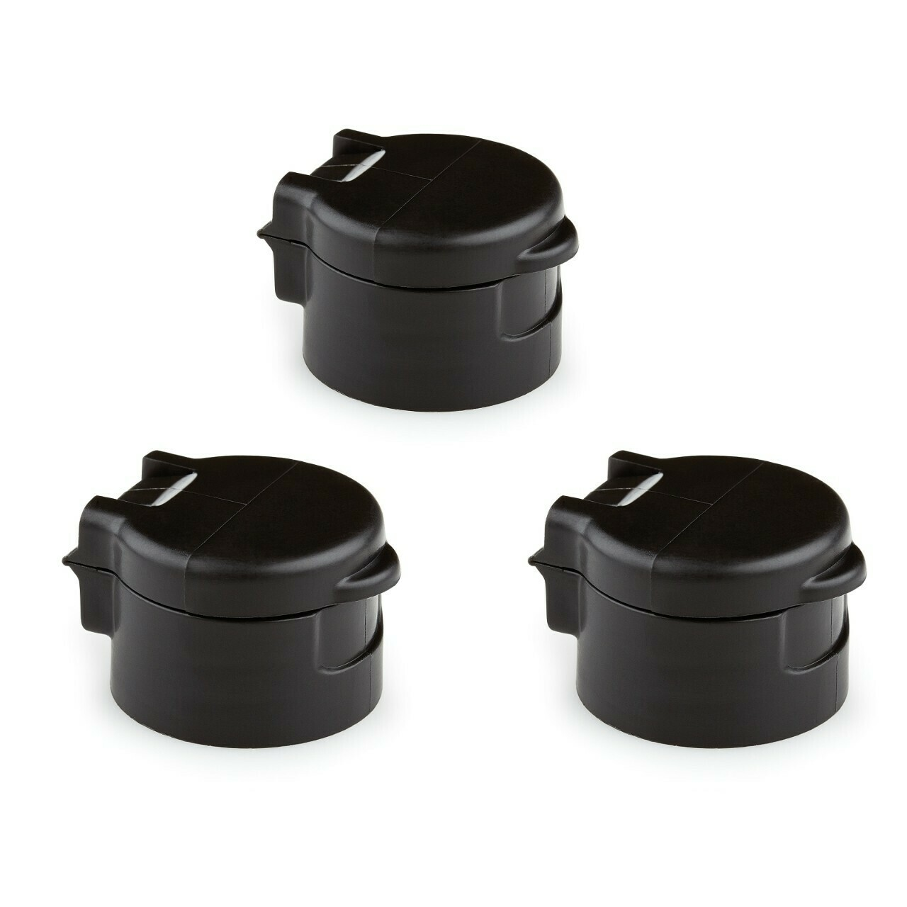 Graco VacuValve Cap Replacements, 3 pack