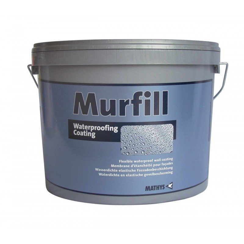 Murfill. Waterproofing Coating. 6Kg and 15Kg packs.