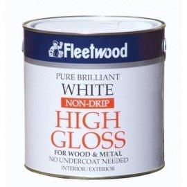 Fleetwood Gloss Non Drip Brilliant White