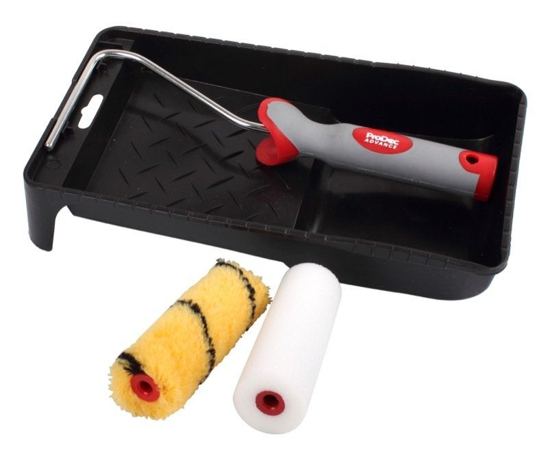 "4"" Roller + Tray Set"