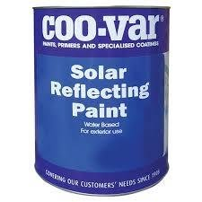 Coo-Var Solar Reflecting Paint. Aluminium. 5lts
