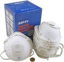Dust Mask with Respirator Pk20