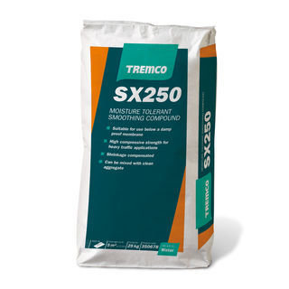 TREMCO SX250 Moisture Tolerant Smoothing Compound 25KG