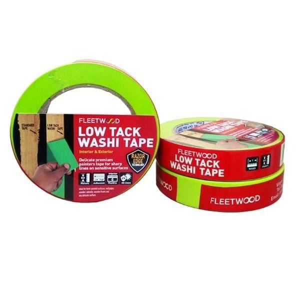 Fleetwood Low Tack Washi Masking Tape