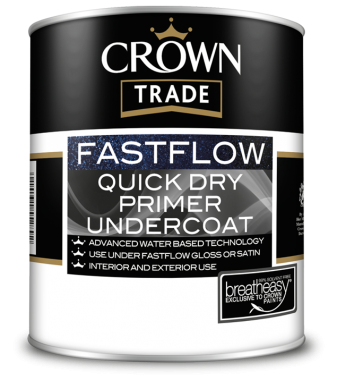 CROWN TRADE FASTFLOW QUICK DRY PRIMER UNDERCOAT