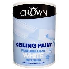 Crown Ceiling Paint Pure Brilliant White