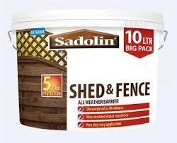 Sadolin Shed & Fence All Weather Barrier 10ltr