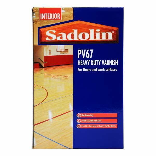 Sadolin PV67 Heavy Duty Varnish