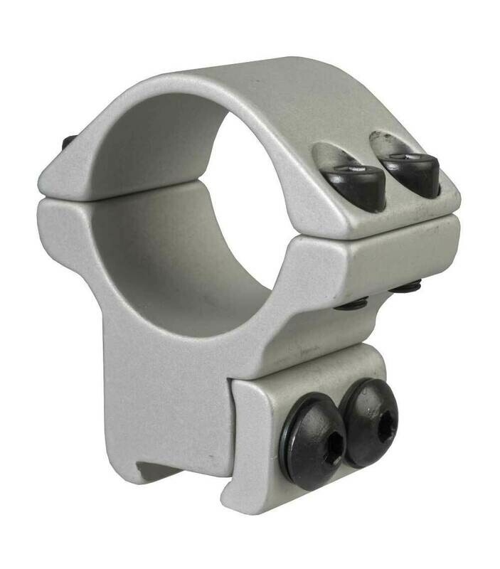 Blueprint Mounts 25mm Double Strap High Silver