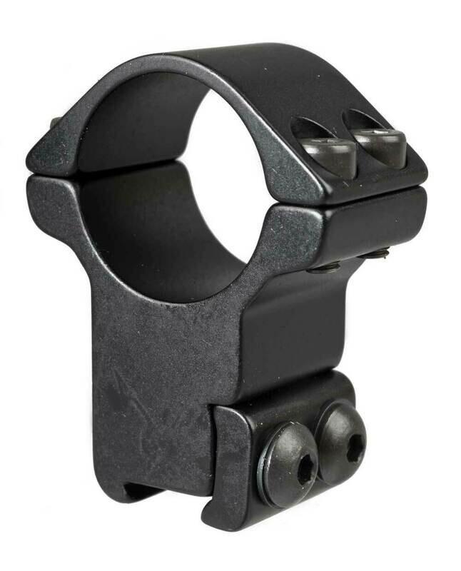 Blueprint Mounts 30mm Double Strap High Black