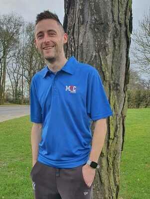 MTC COOL Blue Polo Shirt