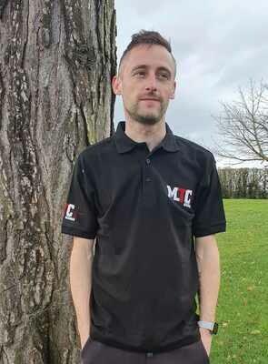 MTC Black Polo Shirt