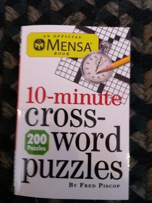 10 Minute Crossword Puzzles