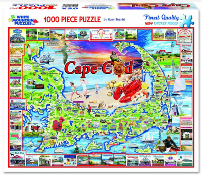 White Mountain 1000 Piece Jigsaw Puzzles - Click for Choices
