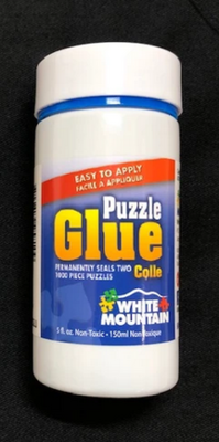 White Mountain Puzzle Glue