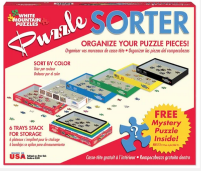 White Mountain Puzzle Sorter