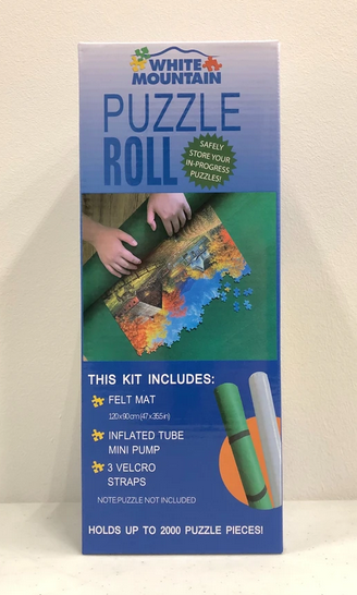 White Mountain Roll Up Puzzle Mat