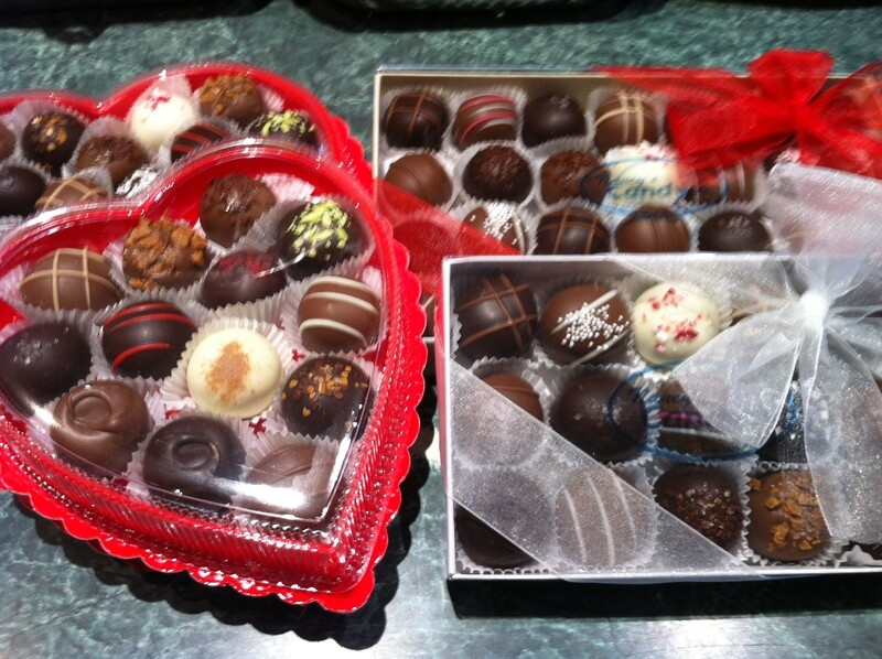 Assorted Truffles -Regular or Heart Shaped Boxes