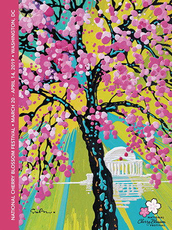 2019 Official National Cherry Blossom Poster