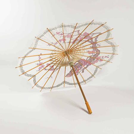 Paper Blossom Sakura Parasol Umbrella