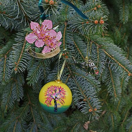 2019 Washington DC Cherry Blossom Ornament Gift Set