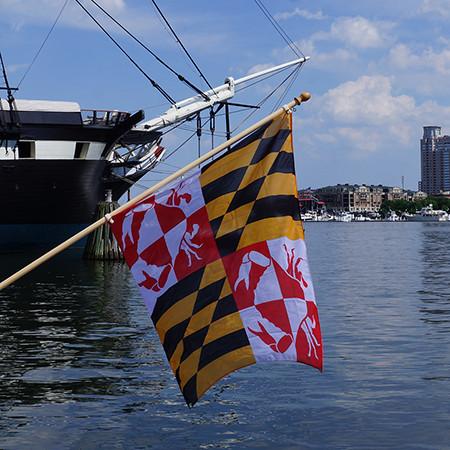 Maryland Crab Flag