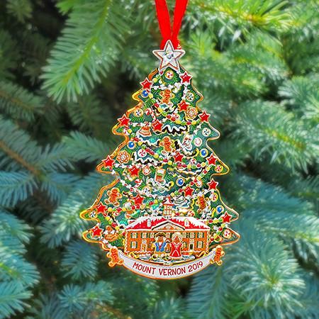 2019 Mount Vernon Christmas Ornament