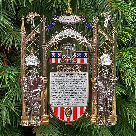 Armor of God Christmas Ornament