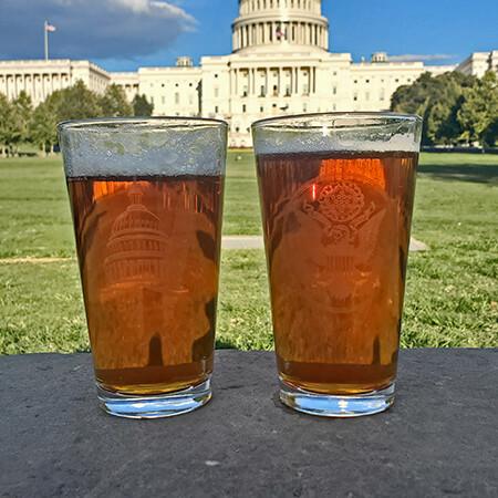 19 Ounce Capitol Pilsner Glass Set