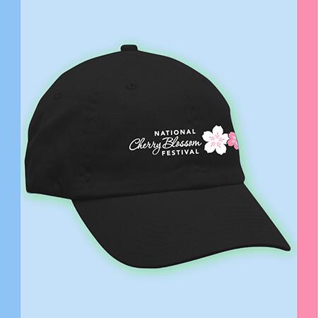 Black National Cherry Blossom Festival Cap