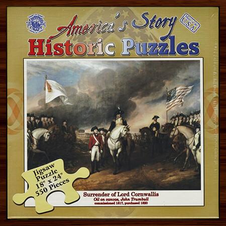Surrender of Cornwallis Puzzle