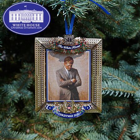 2020 John Fitzgerald Kennedy Christmas Ornament