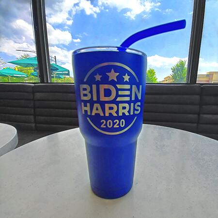Biden Harris Travel Tumbler